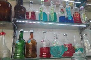 بطری شیشه ای تهران